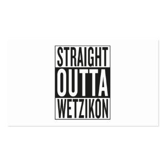 straight outta Wetzikon Business Card