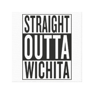 straight outta Wichita Canvas Print