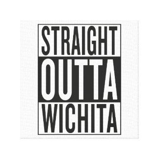 straight outta Wichita Canvas Print