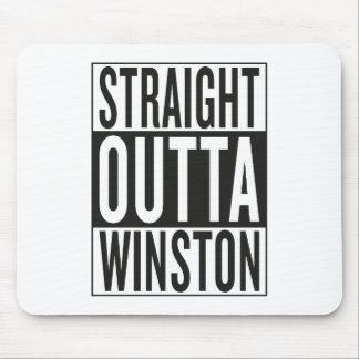 straight outta Winston Mouse Pad
