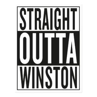 straight outta Winston Postcard