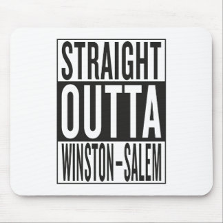straight outta Winston–Salem Mouse Pad