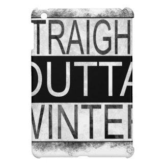 Straight outta WINTER iPad Mini Case