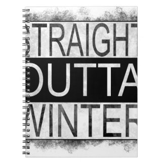 Straight outta WINTER Notebook