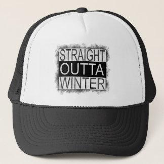 Straight outta WINTER Trucker Hat