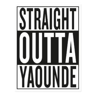 straight outta Yaounde Postcard