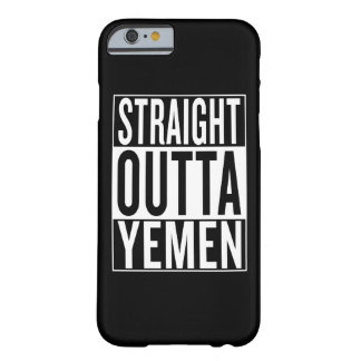 straight outta Yemen Barely There iPhone 6 Case