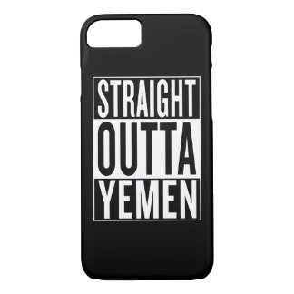 straight outta Yemen iPhone 7 Case