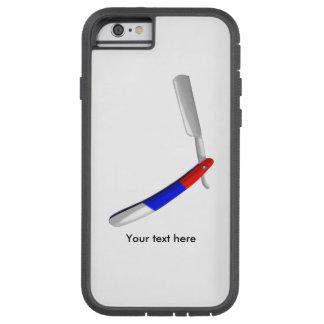 Straight Razor Barbers Shop Colours Tough Xtreme iPhone 6 Case