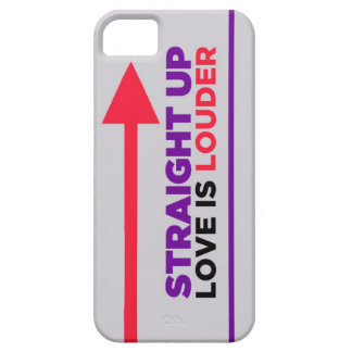 Straight Up Love is Louder iPhone Case