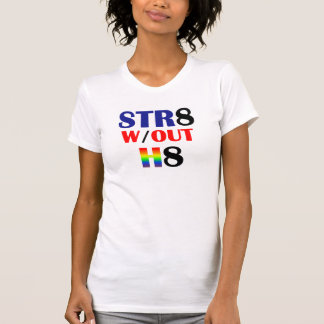 Straight Without Hate Ladies T T-Shirt