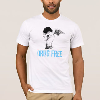 straightedge, DRUG FREE T-Shirt