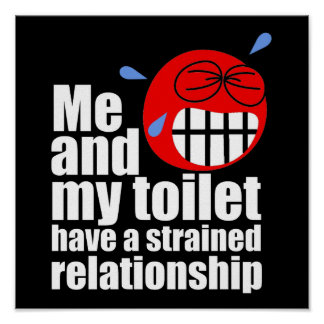 Strained Relationship Poster