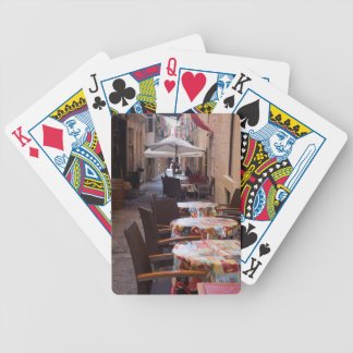 Strait Street Bicycle Playing Cards
