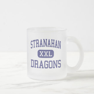 Stranahan - Dragons - High - Fort Lauderdale Frosted Glass Mug