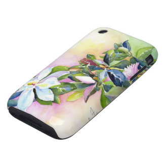 Strand of Flowers iPhone 3 Tough Covers