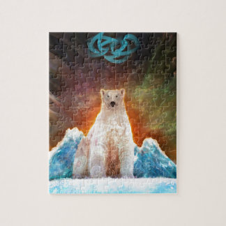 Stranded Polarbear Jigsaw Puzzle