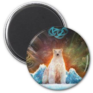 Stranded Polarbear Magnet