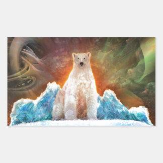 Stranded Polarbear Sticker