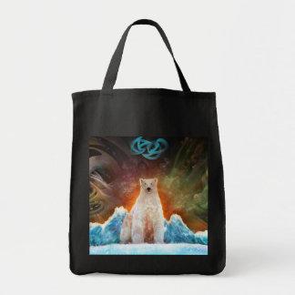 Stranded Polarbear Tote Bag