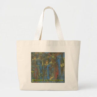 stranded with david hinds large tote bag