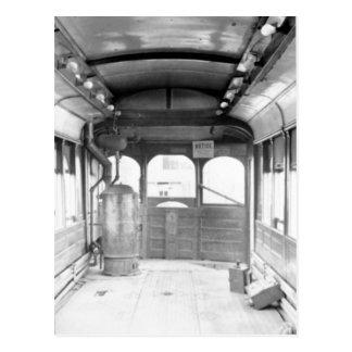 Strang Line Trolley Car Postcard
