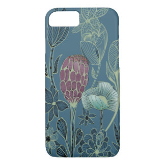 Strange and exotic garden flowers Case-Mate iPhone case