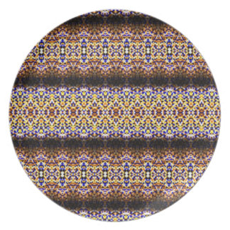 Strange and unusual pattern plate