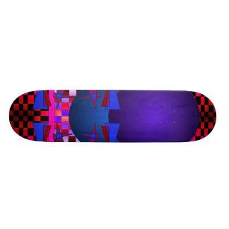 Strange Asymmetrical Add Your Own Words Skateboard