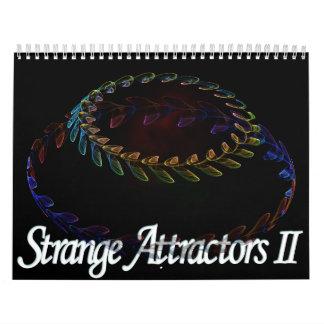 Strange Attractors Calendar II