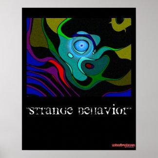 Strange Behavior - poster