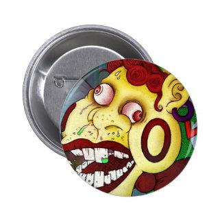 Strange Clown 2 Inch Round Button