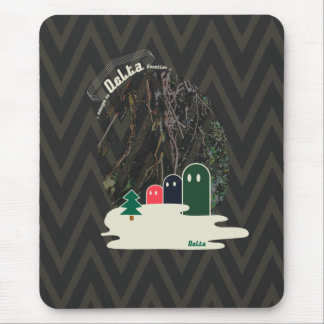 Strange creature Delta01typeA mouse pad of lake