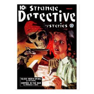 Strange Detective Mysteries Postcard