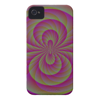 Strange Eight - Weird Pink Abstract Case-Mate iPhone 4 Case