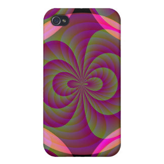 Strange Eight - Weird Pink Abstract Cases For iPhone 4