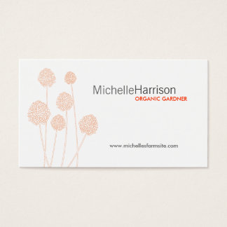 STRANGE FLOWERS Business Card