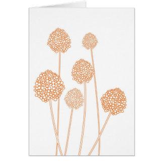 STRANGE FLOWERS Notecard