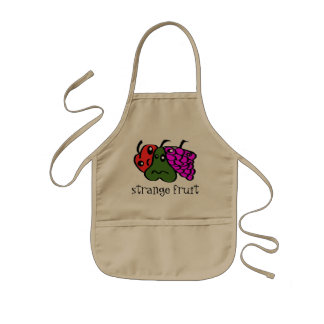 strange fruit kids apron