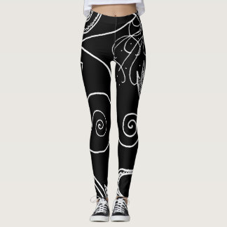 Strange Gardens, Black Leggings