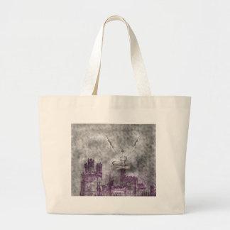 strange land large tote bag