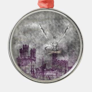 strange land metal ornament