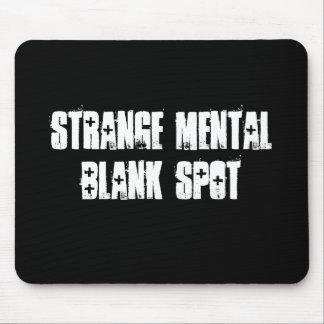 Strange Mental Blank Spot Aa Mousepad