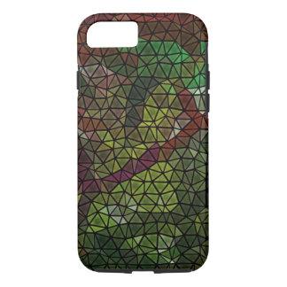 Strange mosaic pattern iPhone 7 case