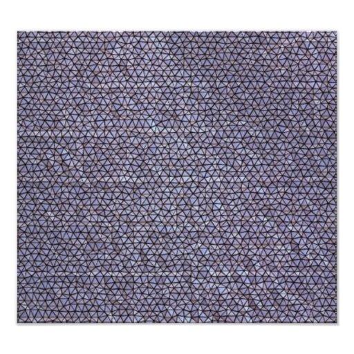 Strange mosaic pattern photo art