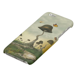 Strange Mushrooms Matte iPhone 6 Case