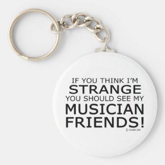 Strange Musician Friends Keychain