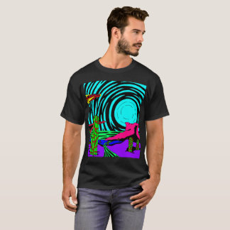 Strange new landscape T-shirt 2