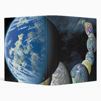 Strange New Worlds Vinyl Binder