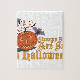 Strange Sights On Halloween Puzzle